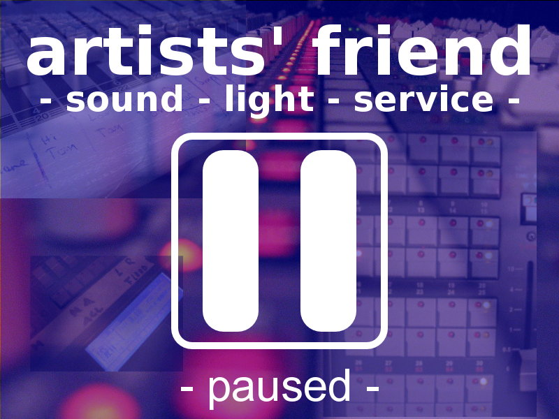 - artists' friend - paused -